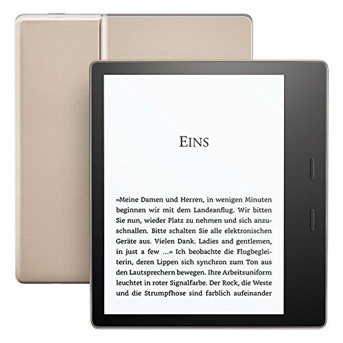Kindle Oasis, wasserfest, 32 GB, WLAN  (Vorgängermodell – 9.Generation)