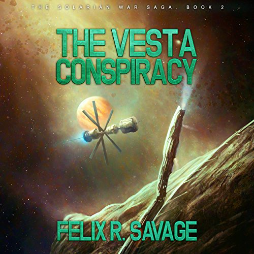 The Vesta Conspiracy audiobook cover art
