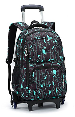 Meetbelify Boys Rolling Backpack Backpacks with Wheels for Boys for School Big Kids Roller Backpack on Wheels