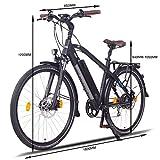 Zoom IMG-2 ncm venice plus bicicletta elettrica