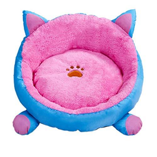 N\A Katzenbett, Plüsch Cat Bett Haus für Katzen Betten für Katzen Kätzchen Matte...