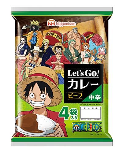 日本ハム Let's Go!カレー ビーフ 中辛 OnePiece680g