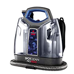 Tank capacity 37 ounce; Heatwave technology maintains consistent water temperature while cleaning 3 inch tough stain tool for cleaning stairs, upholstery and hard to reach places Deep reach tool removes embedded dirt and stains from the bottom up; Di...