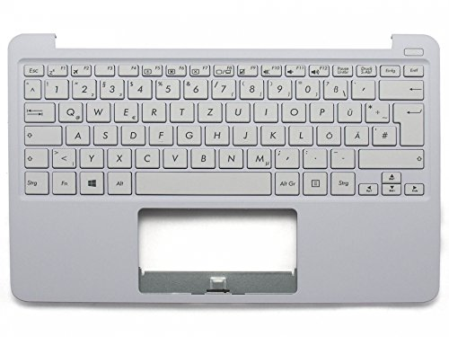 ASUS EeeBook F205TA Original Tastatur inkl. Topcase DE (deutsch) weiß/weiß