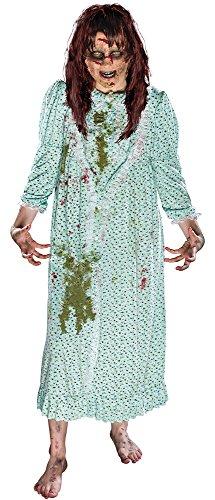Haunted House - Disfraz de niña exorcista, talla única (Rubie