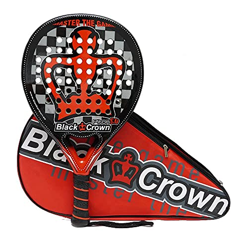 Pala de Padel Black Crown Piton 8.0 + Overgrip Siux + Camiseta...