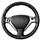 Vip - Funda de volante para coche, modelo CLSSICA TURISMO, Cubre volante de coche, color negro.