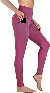 Gimdumasa High Waist Yoga Pants with Pockets Tummy Control Workout Pants for Womens 4 Way Stretch Leggings