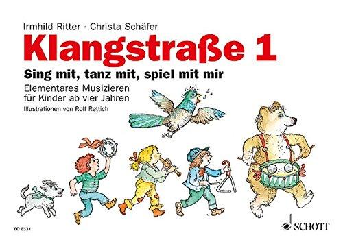Klangstraße 1 - Kinderheft: mit Elterninformationen, Anwesenheitsheft und Arbeitsblättern. Kinderheft.