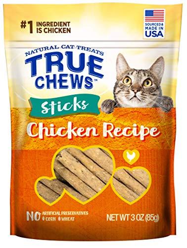 True Chews Cat Sticks Chicken Recipe 3oz