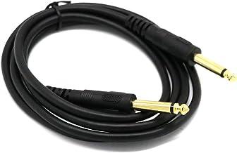 """NewIncorrupt Premium 6,35 mm mono jack 1/4""""Ts gitaar instrument kabel nylon gevlochten 3 ft geleidbaarheid en duurzaamheid"""