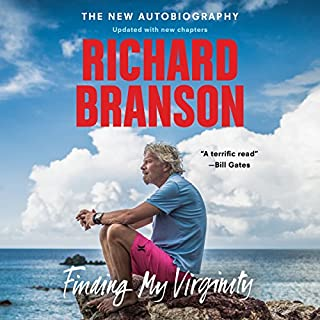 Finding My Virginity     The New Autobiography              Written by:                                                                                                                                 Richard Branson                               Narrated by:                                                                                                                                 Steve West                      Length: 17 hrs and 55 mins     98 ratings     Overall 4.6