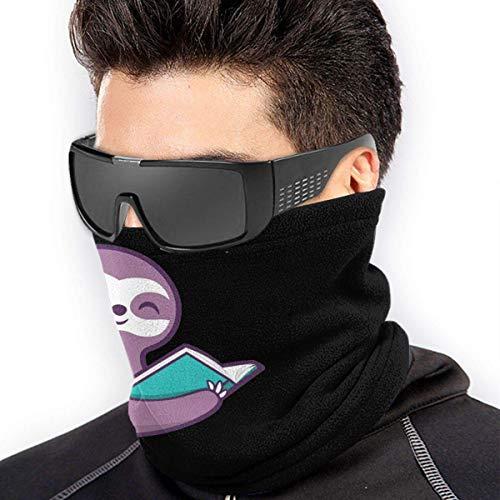 QDAS mannen vrouwen boek luier halsmanchet warmer outdoor helm liner voor unisex zwart