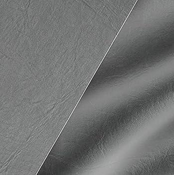 VViViD Grey Weatherproof Faux Leather Finish Marine Vinyl Fabric  10ft x 54