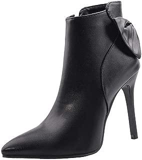 BalaMasa Womens ABS14170 Pu Boots