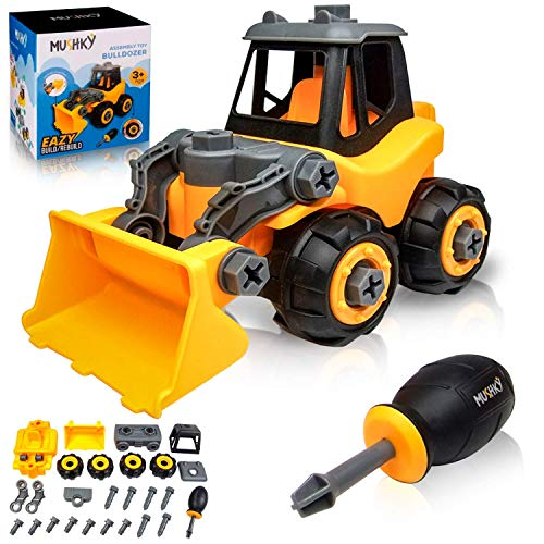 Assembly Bulldozer Construction Truck