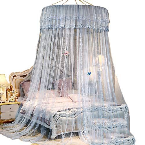 Moskitonetz Übergroßes Decke - für Einzelbetten mit Doppelbett, Kingsize-Betten, feinste Löcher, 1 Eintrag, Hängekit (Size : 1.0m(3.3feet) Bed)