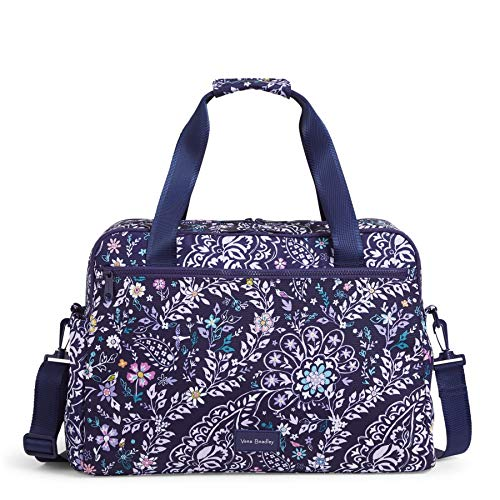 Vera Bradley Women's Recycled Lighten Up Reactive Weekender Travel Bag, Belle Paisley, One Size