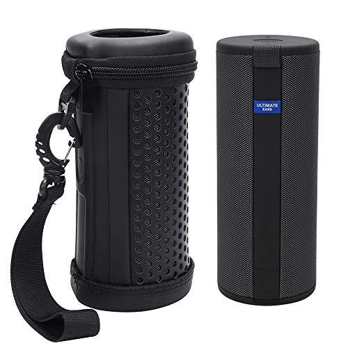 Seracle Funda rígida de protección, funda de almacenamiento, bolsa de viaje, para Ultimate Ears UE Boom 3, altavoz inalámbrico Bluetooth portátil (funda)