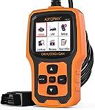 AUTOPHIX OBD2Scanner Auptohix Om126EOBD OBDII Outil de Diagnostic Auto, Lecteur de Code de réinitialisation pour de Voyant d'avertissement de Gestion de Moteur