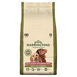 Harringtons Rich in Beef with Brown Rice Adult Dog Complete Animal Food, 5kg