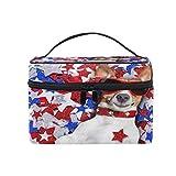 Bolsa de maquillaje portátil Funny Animal Dog Travel Cosmetic Toiletry Bags Maletín Estuche de maquillaje para mujeres Damas Niñas