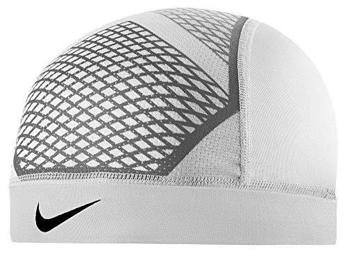 Nike Pro Hypercool Vapor Skull Cap 4.0 (OSFM,White/Wolf Grey/Blk)