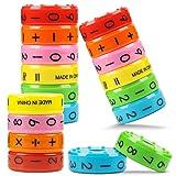 LOVEXIU Juguetes Educativos MagnéTico,Juguete MatemáTico 3 Pcs,MatemáTicas Aprendizaje AritméTico NiñOs Rompecabezas Educativo, NúMeros SíMbolos Habilidades Juguetes MatemáTicas para NiñOs Regalo