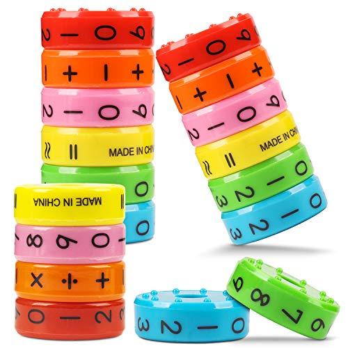 Juguetes Educativos MagnéTico,Juguete MatemáTico 3 Pcs,MatemáTicas Aprendizaje AritméTico NiñOs Rompecabezas Educativo, NúMeros SíMbolos Habilidades Juguetes MatemáTicas para NiñOs Regalo