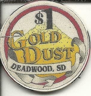 $1 gold dust casino chip deadwood south dakota
