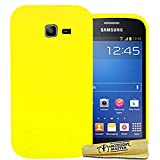 Accessory Master Coque en Silicone Gel pour Samsung Galaxy Trend Lite S7390 Jaune