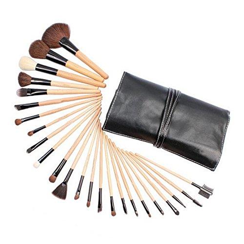 Ecloud Shop® 24pcs maquillage cosmétique multifonctionnel Fard à paupières Pinceau