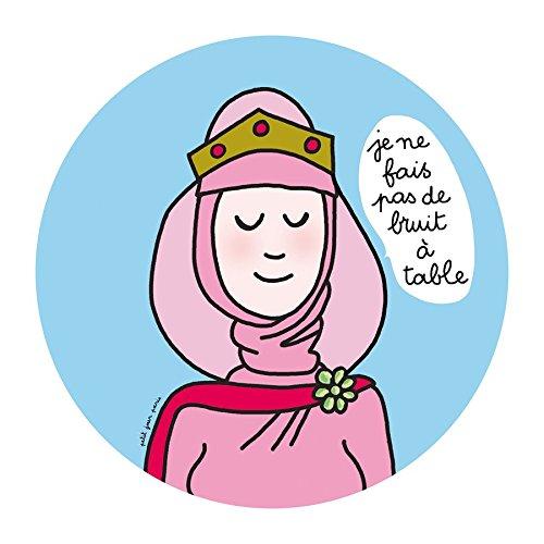 Petit Jour Paris PC981J Princes et Princesses Assiette Rose//Bleu