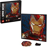 LEGO Art Marvel Studios Iron Man 31199 Building Kit (3,167 Pieces) (2020 Model)