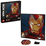 LEGO Art Marvel Studios Iron Man 31199 Building Kit for Adults; A Creative Wall Art Set Featuring Iron Man That Makes an Awesome Gift, New 2020 (3,167 Pieces)