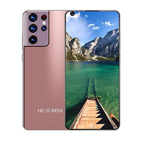 mobile phone Teléfono Android Inteligente de Oro Rosa con Pantalla Grande 7.3 Pulgadas Pantalla Completa Alta resolución Alta definición Calidad de Imagen