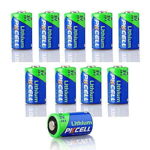CR15H270 (CR2) 850 mAh CR2 de litio 3 V cámara de fotos 10 Piezas