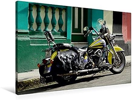 Harley Davidson in Havanna, 90x60 cm