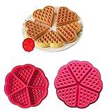 Formine per biscotti Strumenti e accessori per la cottura Strumenti per modellare e modellare torte 5 anche amore stampo in silicone stampo per cialde stampo per biscotti a scacchi stampo per biscotti