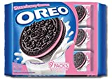 Oreo Strawberry Cream Sandwich Cookies 264.6g