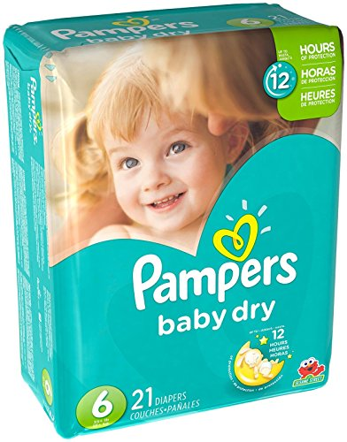 Price comparison product image Pampers Baby Dry Diapers - Size 6 - 21 ct