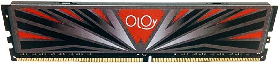 OLOy DDR4 RAM 8GB (1x8GB) 3000 MHz CL16 1.35V 288-Pin Desktop Gaming UDIMM (MD4U083016BBSA)