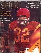 Sport Magazine December 1968 (O.J. Simpson cover)