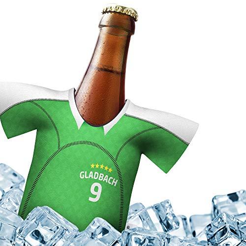 Fan-Trikot-kühler Home für Borussia Mönchengladbach Fans   DRIBBEL-KÖNIG   1x Trikot   Fußball Fanartikel Jersey Bierkühler by ligakakao.de