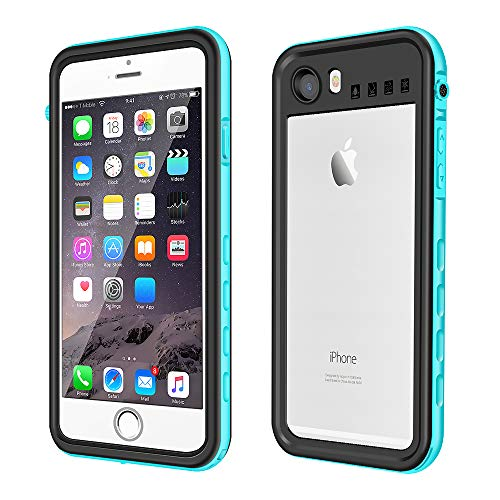 Waterproof Case for iPhone 6/6s, IP68 Waterproof Snowproof Shockproof and Dustproof Cover Case with Touch ID, Underwater Full Sealed Cover Case for iPhone 6/6s, 4.7 inch
