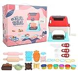 Pelnotac Ofenbacker-Kit, Nudelmaschine, Spielzeug, ungiftig, DIY Handwerk Modelliermasse für Kinder...