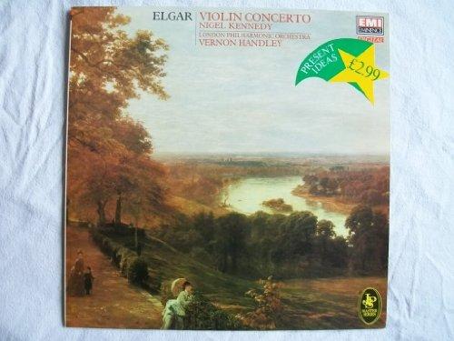 EMX 412058 NIGEL KENNEDY Elgar Violin Concerto LP 1984