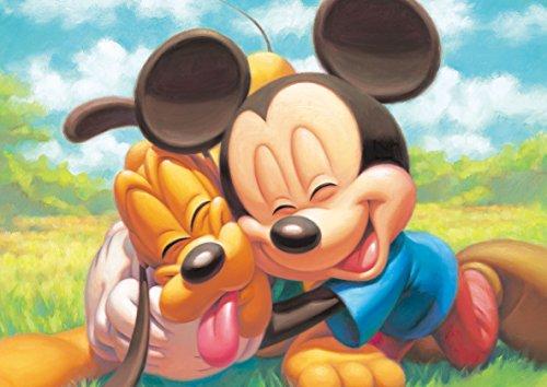 266ピース ジグソーパズル スウィートバッグコレクション ミッキーマウス&プルート ぎゅっとシリーズ【ステンドアート】(18.2x25.7cm)
