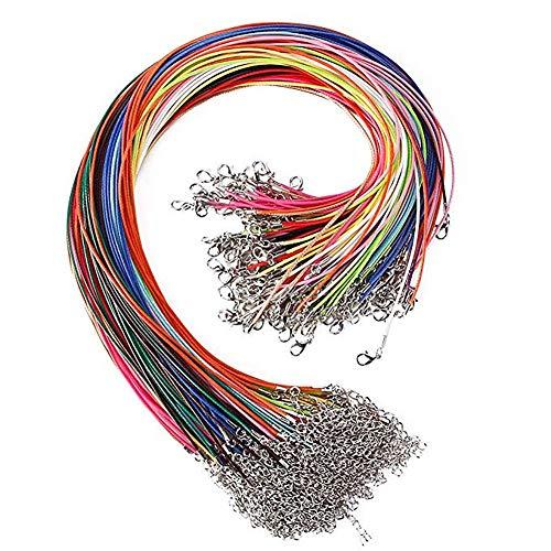 huihuijia Cadena Collar Collares Mujer Joven Las Mujeres Collares Collares de declaración para Mujeres Mujer Collares Collar de los Hombres Collar de 10pcs Multicolor