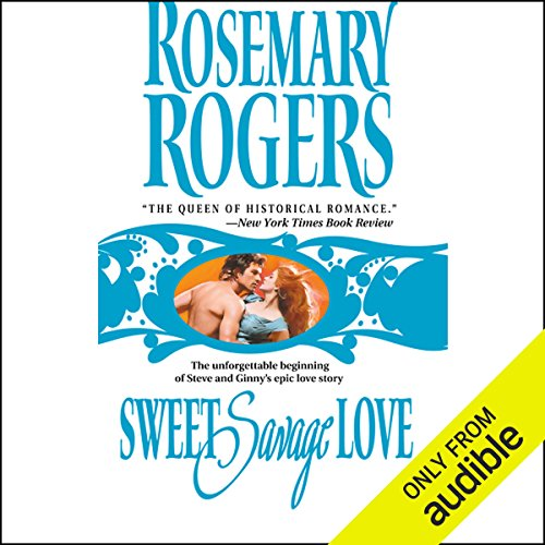 Sweet Savage Love audiobook cover art